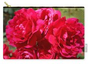 Red Rose Garden Art Prints Roses Carry-all Pouch