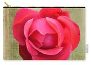 Red Rose Of Love Carry-all Pouch