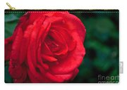 Red Rose Profile Carry-all Pouch