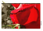 Red Rose #2 Carry-all Pouch