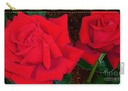 Red Rose Twins  Carry-all Pouch