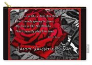 Red Rose Valentine Carry-all Pouch