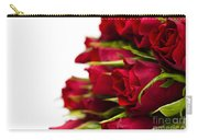 Red Roses Carry-all Pouch by Anne Gilbert
