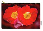 Red Roses Heart Carry-all Pouch