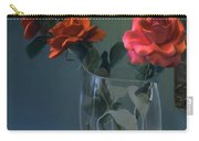 Red Roses In A Vase Carry-all Pouch