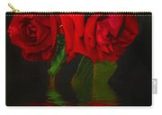 Red Roses Reflected Carry-all Pouch