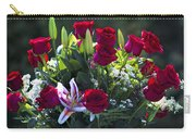 Red Roses Say I Love You Carry-all Pouch