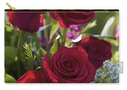 Red Roses The Language Of Love Carry-all Pouch