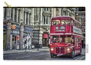Red Routemaster Carry-all Pouch