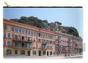 Red Row Houses In Nice Carry-all Pouch