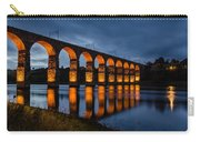 Red Royal Border Bridge Carry-all Pouch
