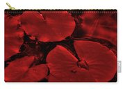Red Ruby Tuesday Carry-all Pouch