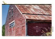Red Rustic Weathered Barn Carry-all Pouch