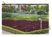 Red Salad And Roses - Chateau Villandry Garden Carry-all Pouch