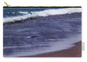 Red Sand Beach Abstract Carry-all Pouch