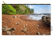 Red Sand Seclusion - The Exotic And Stunning Red Sand Beach On Maui Carry-all Pouch