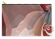 Red Sheer Carry-all Pouch