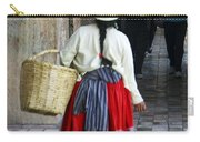 Red Skirted Woman Of Cuenca Carry-all Pouch