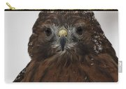 Red Shouldered Hawk Close Up Carry-all Pouch