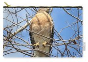 Red Shouldered Hawk In Tree Carry-all Pouch