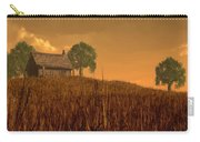 Red Skies At Night Carry-all Pouch by Daniel Eskridge