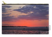 Red Sky At Sword Beach Carry-all Pouch