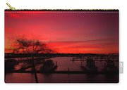Red Sky In The Morning Two Carry-all Pouch