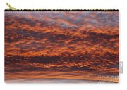 Red Sky Carry-all Pouch by Michal Boubin