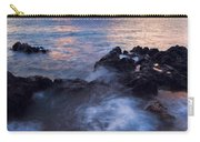 Red Sky Over Lanai Carry-all Pouch by Mike  Dawson