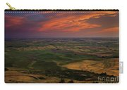 Red Sky Over The Palouse Carry-all Pouch