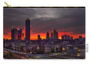 Red Sky Sunrise Midtown Atlanta Carry-all Pouch