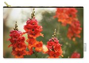 Red Snapdragons Carry-all Pouch