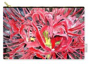 Red Spider Lily Flower Painting Carry-all Pouch