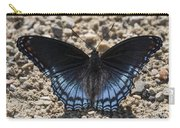 Red Spotted Purple Butterfly Carry-all Pouch