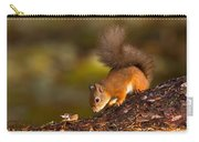 Red Squirrel In Autumn Carry-all Pouch
