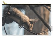 Red Squirrel Licking Dew Droplets  Carry-all Pouch