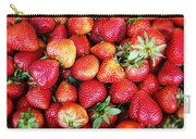 Red Strawberries Carry-all Pouch