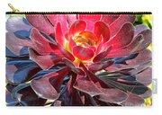 Red Succulent Plant Carry-all Pouch