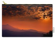 Red Sumer Sunset Carry-all Pouch
