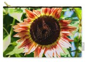 Red Sunflower Carry-all Pouch