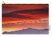 Red Sunrise Over National Park Sierra Nevada Carry-all Pouch