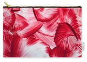 Red Swirls Background Carry-all Pouch