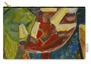 Red Table Top Still Life Carry-all Pouch