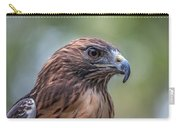 Red Tail Hawk Carry-all Pouch by John Haldane
