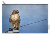 Red Tail On Watch Carry-all Pouch