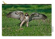 Red-tailed Hawk & Gopher Snake Carry-all Pouch