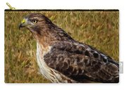 Red Tailed Hawk Close Up Carry-all Pouch