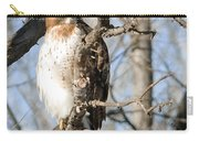 Red-tailed Hawk Looking Carry-all Pouch