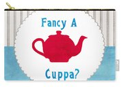 Red Teapot Carry-all Pouch