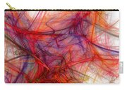Red Threads Carry-all Pouch